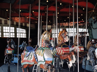 Central Park Carousel New York New York United States