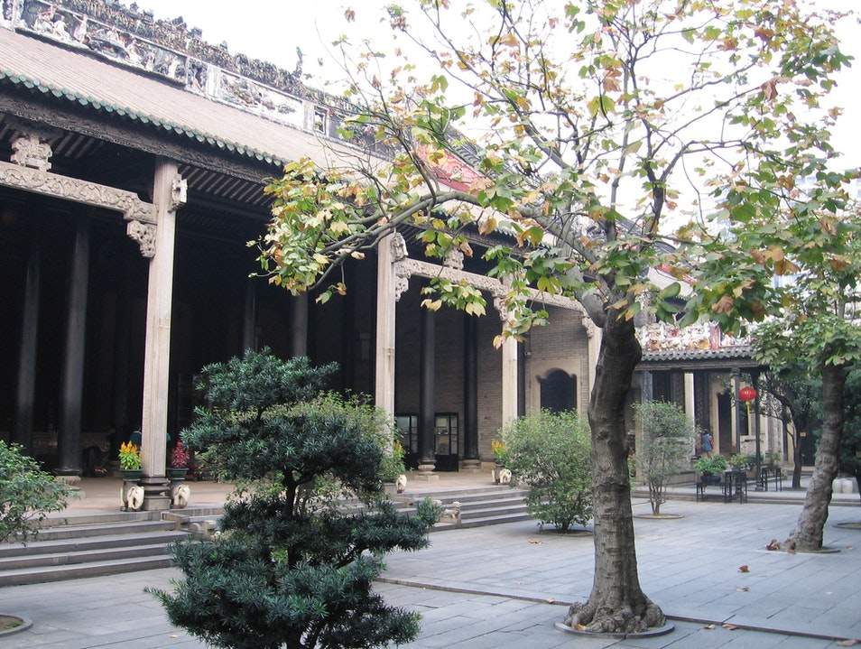 Dance to Chinese Folk Music in Guanzhong Folk Art Museum's Courtyard Xi'an  China