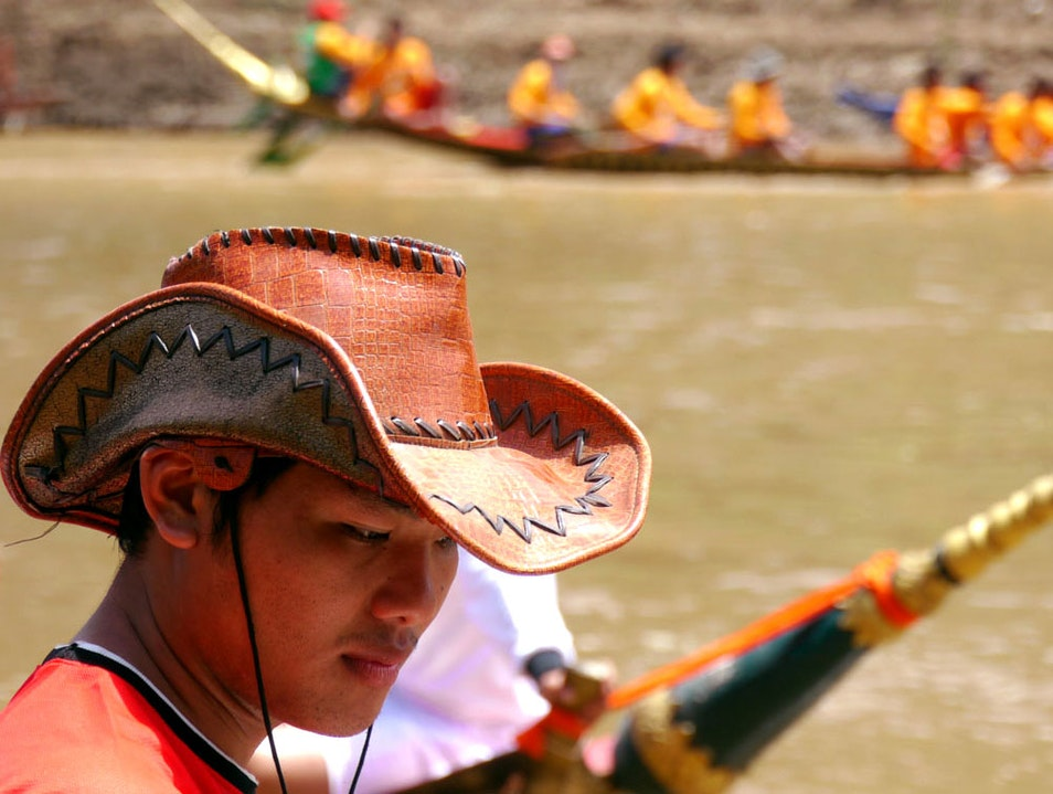 A Laotian Cowboy goes to the Dragon Boat Races