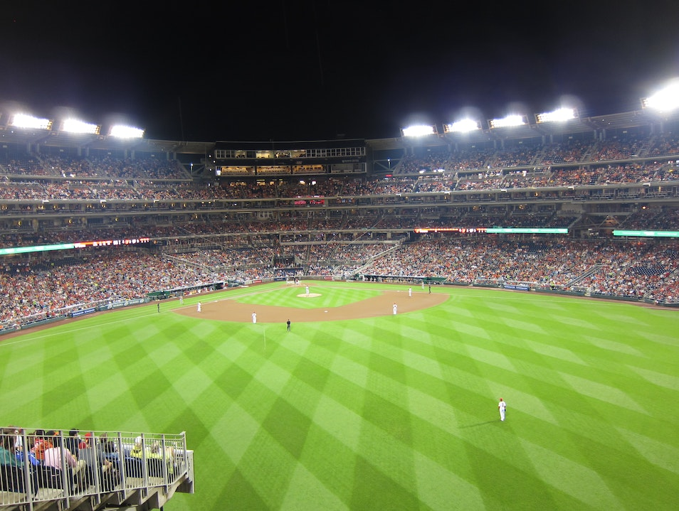 Take me out to the ball game! Washington, D.C. District of Columbia United States