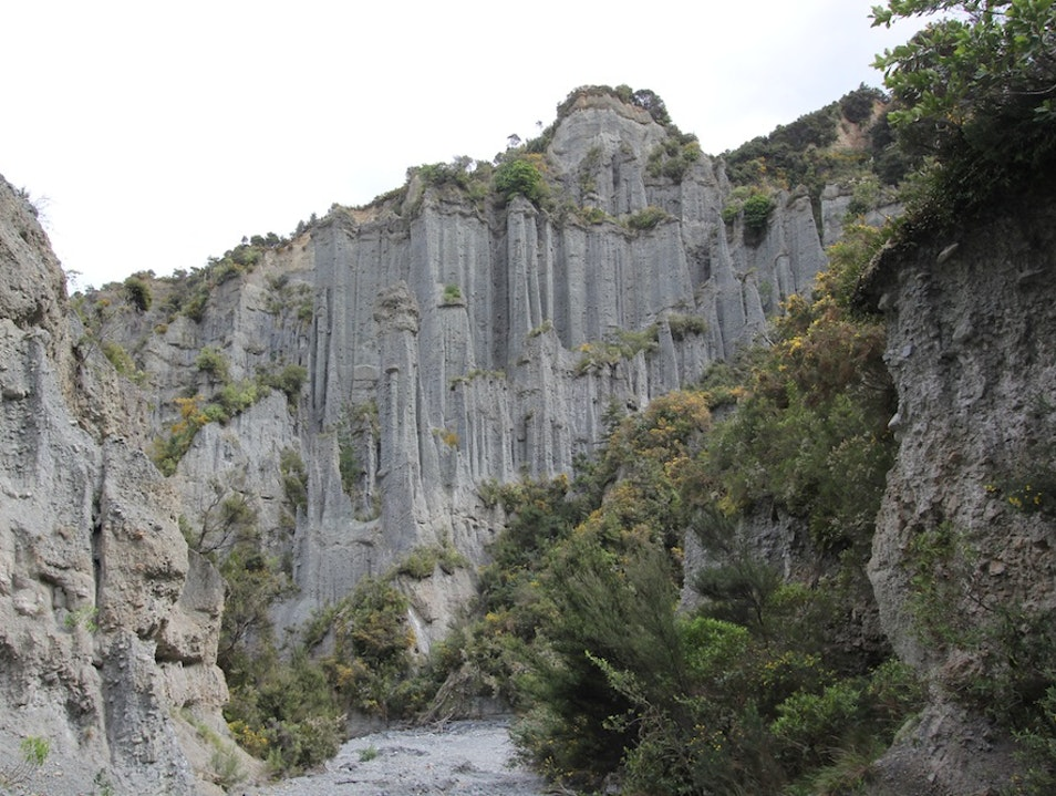 The Putangirua Pinnacles  Cape Palliser  New Zealand