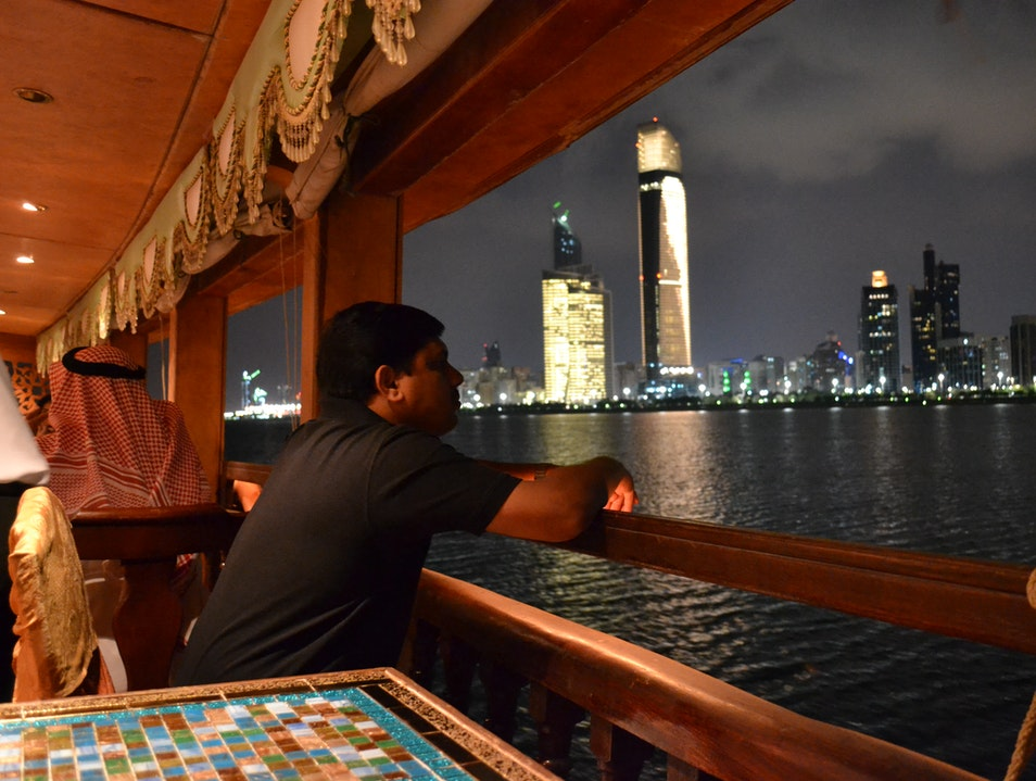 Dhow Dinner Cruise Abu Dhabi  United Arab Emirates
