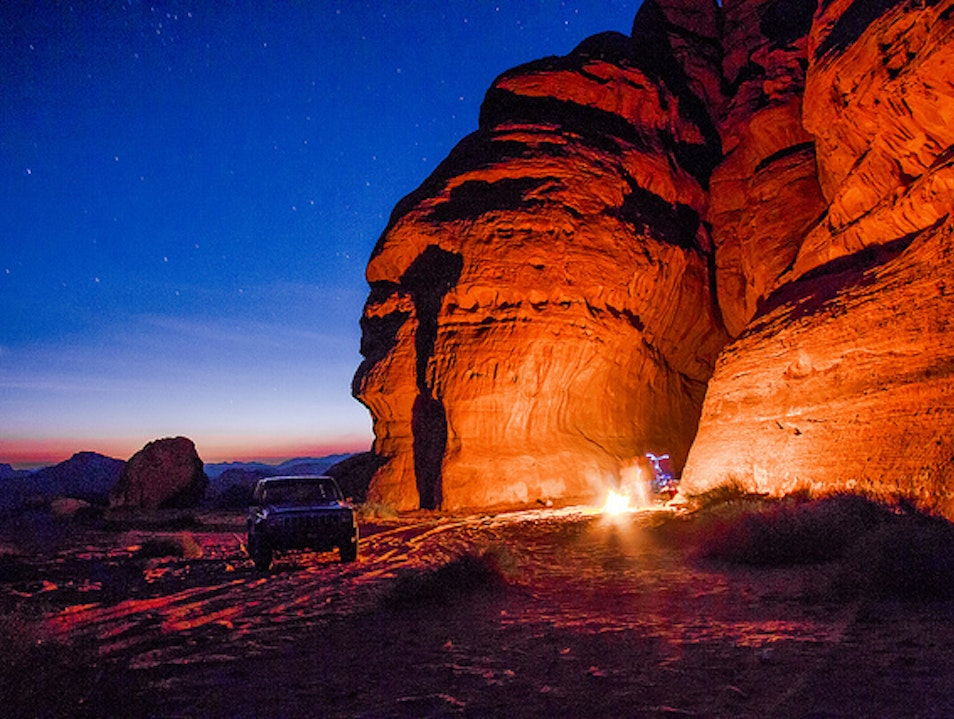 Spend a Night under the Stars
