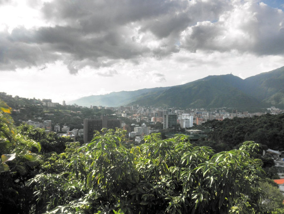 A city in a valley Caracas  Venezuela