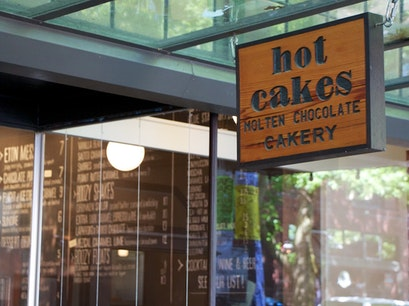 Hot Cakes - Molten Chocolate Cakery Seattle Washington United States