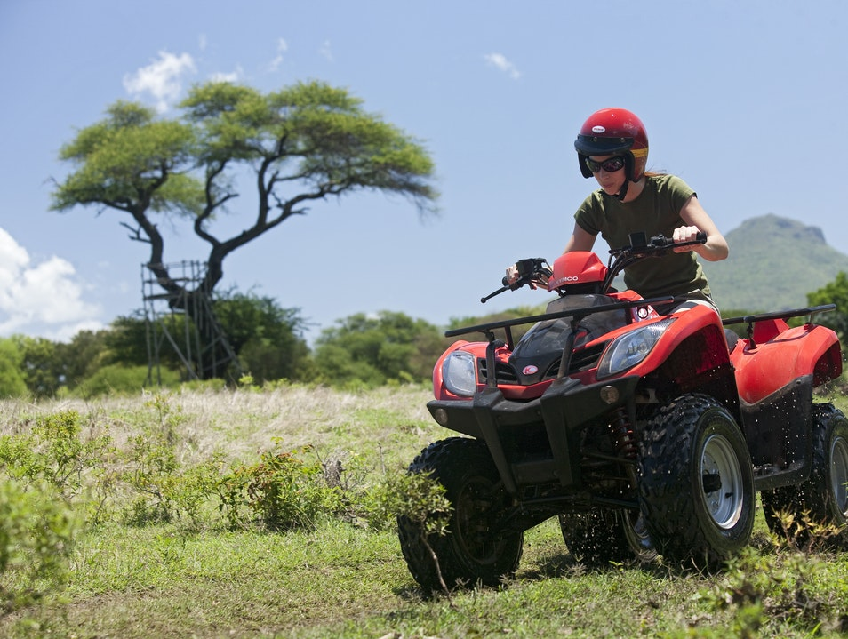 Race Quads around the Frederica Nature Reserve Bel Ombre  Mauritius