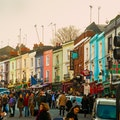 Portobello Road Market London  United Kingdom
