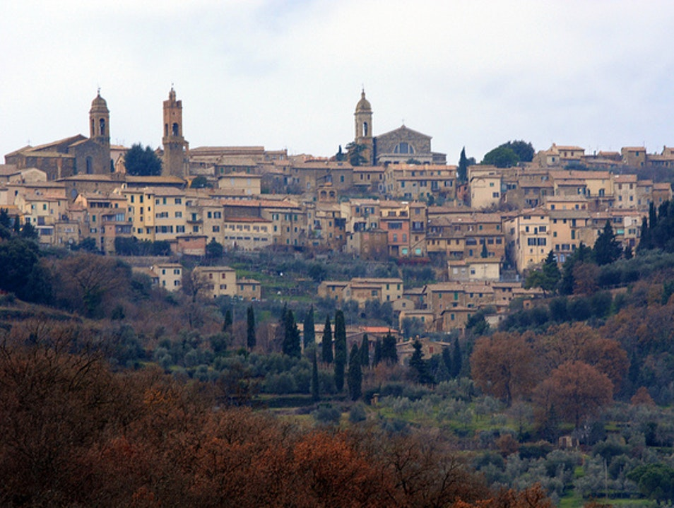 Home of the Red Montalcino  Italy