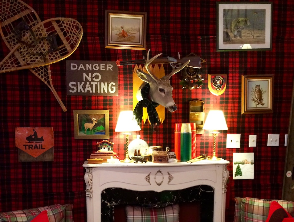 A Plethora of Plaid at Brimfield Chicago Illinois United States