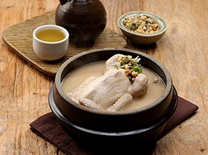 Tosokchon - Chicken Soup Restaurant Seoul  South Korea