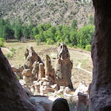 Frijoles Canyon, Bandelier National Monument