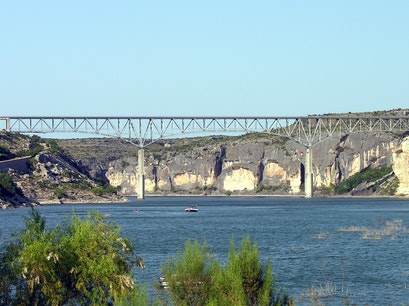 Pecos River High Bridge Comstock Texas United States