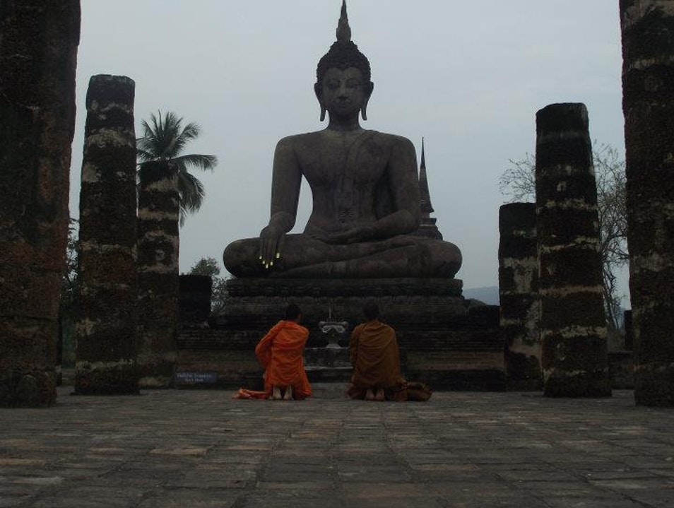 I say a little prayer for you. Sawankhalok  Thailand