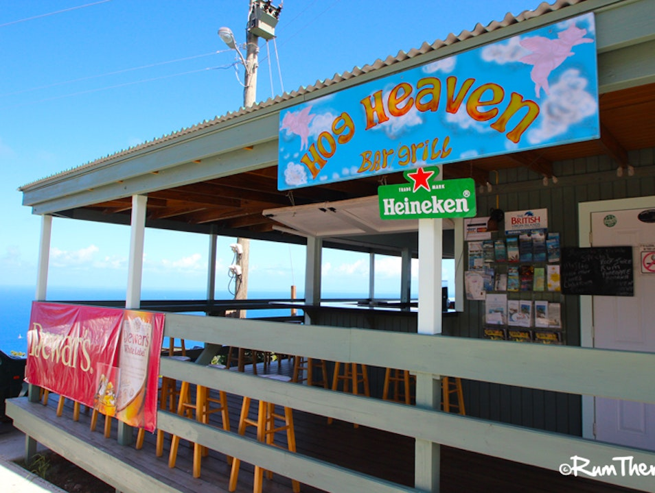Hog Heaven Bar & Grill Virgin Gorda  British Virgin Islands