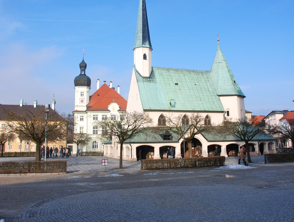 Germany's most visited place of pilgrimage Altötting  Germany