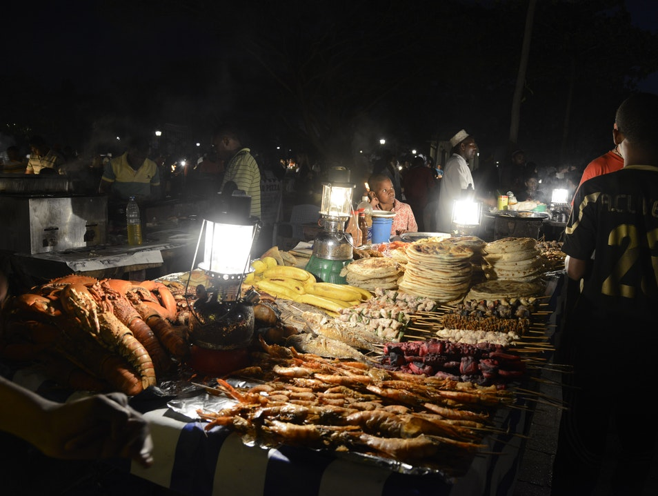 Night Market, Stone Town