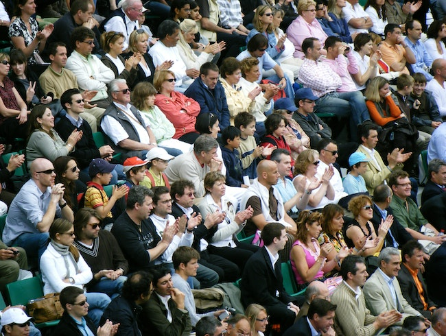 French Open Spectators