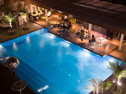 Aqua Lounge at the Park Hotel New Delhi  India
