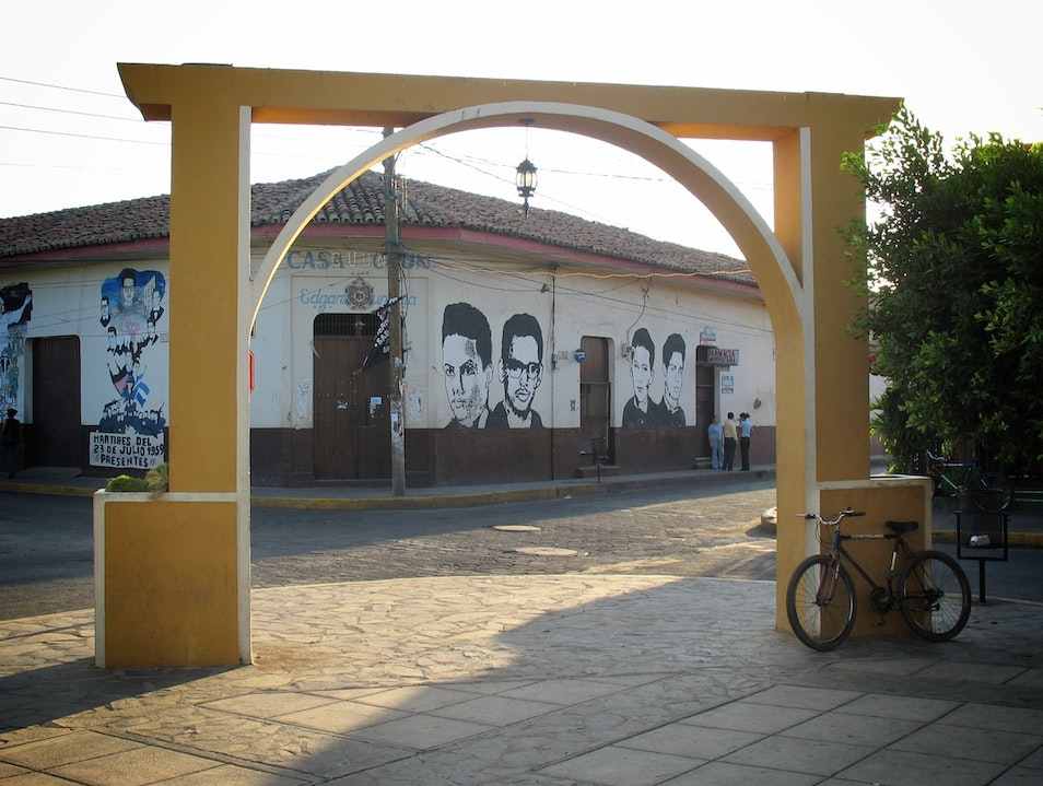 Faces on Walls--Murals from the Sandinista Revolution in Leon, Nicaragua