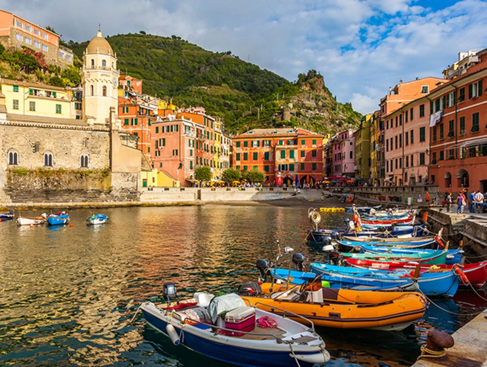 Magnificent landscapes with an even richer history  Vernazza  Italy