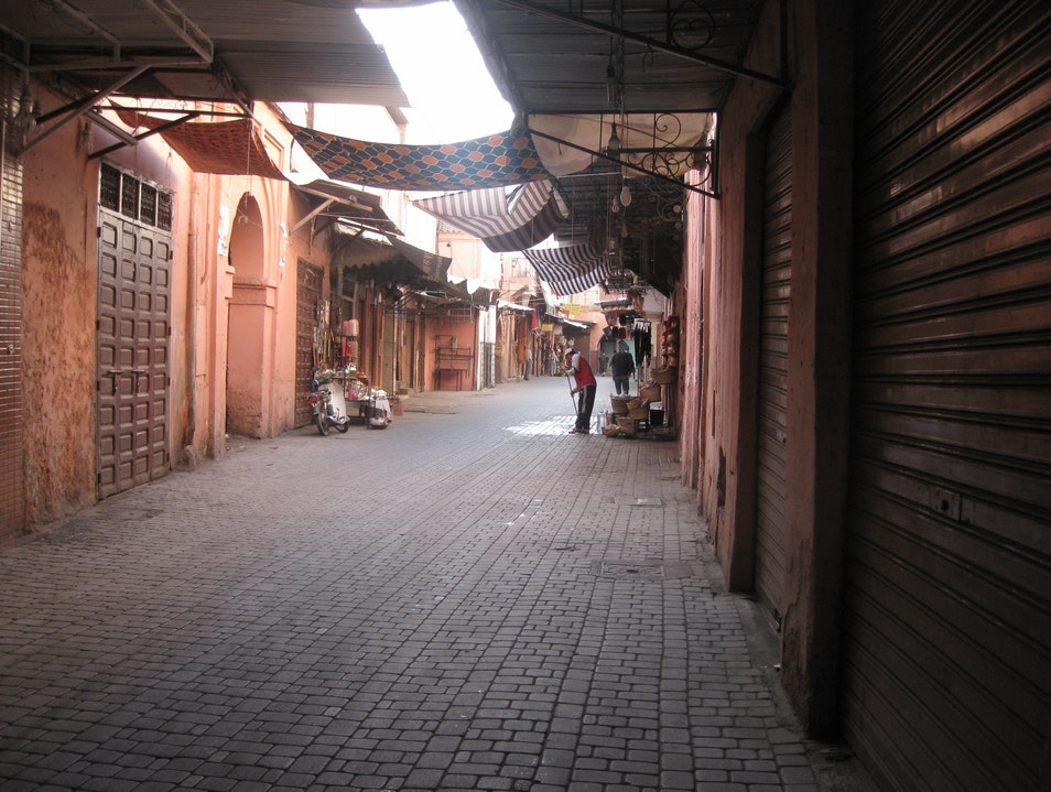 Where'd the Souq Go?! Marrakech  Morocco