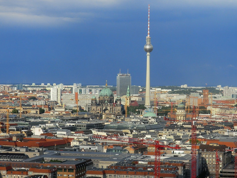 Berlin's TV Tower Berlin  Germany