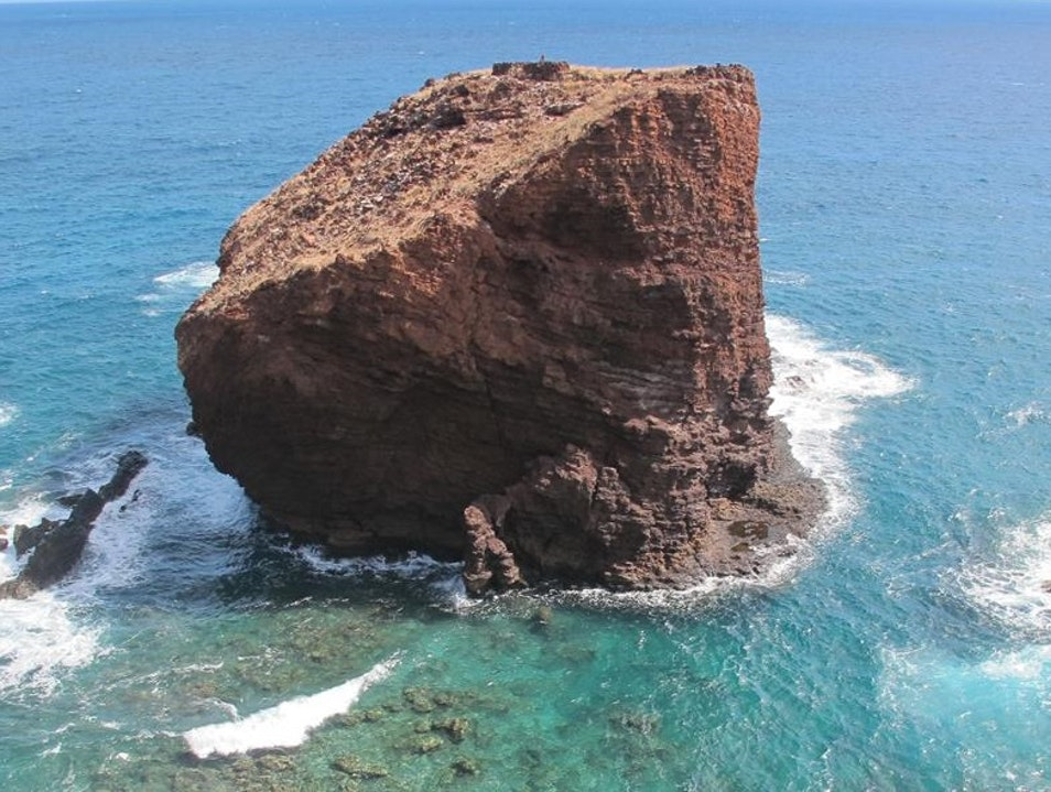 "The Legend of ""Sweetheart Rock"" Lanai City Hawaii United States"
