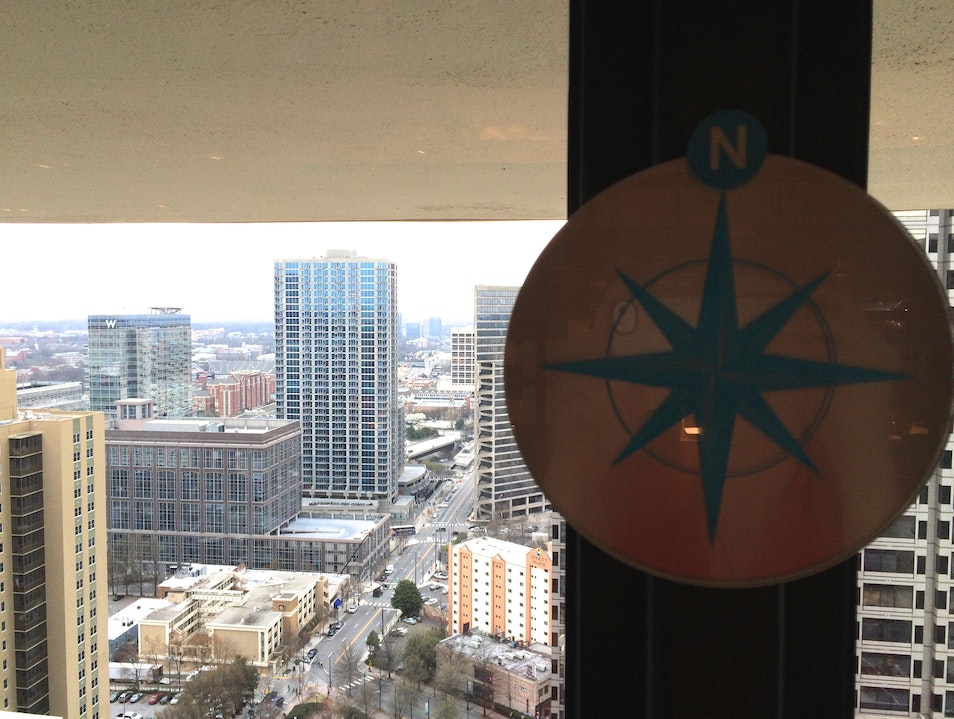 Revolving Bar with Iconic Views