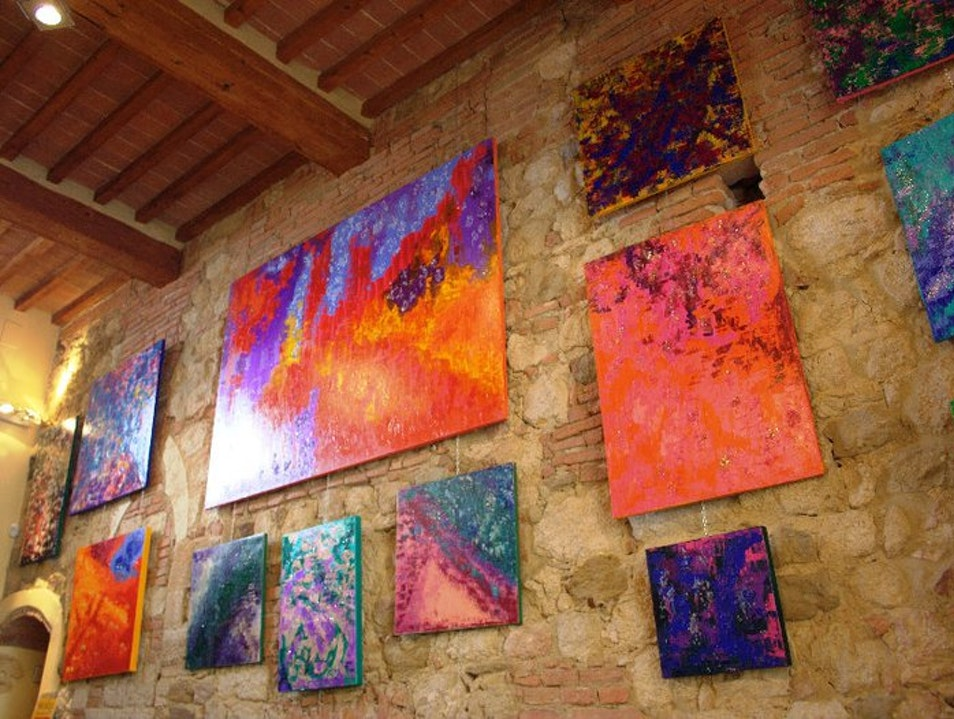 "Temporary Exhibition at ""E lucevan le stelle"" Montepulciano  Italy"