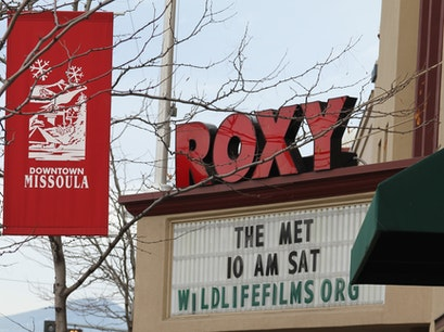 Roxy Theatre Missoula Montana United States