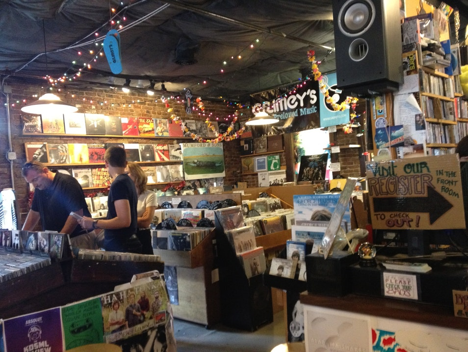 best record shop in the southeast Nashville Tennessee United States