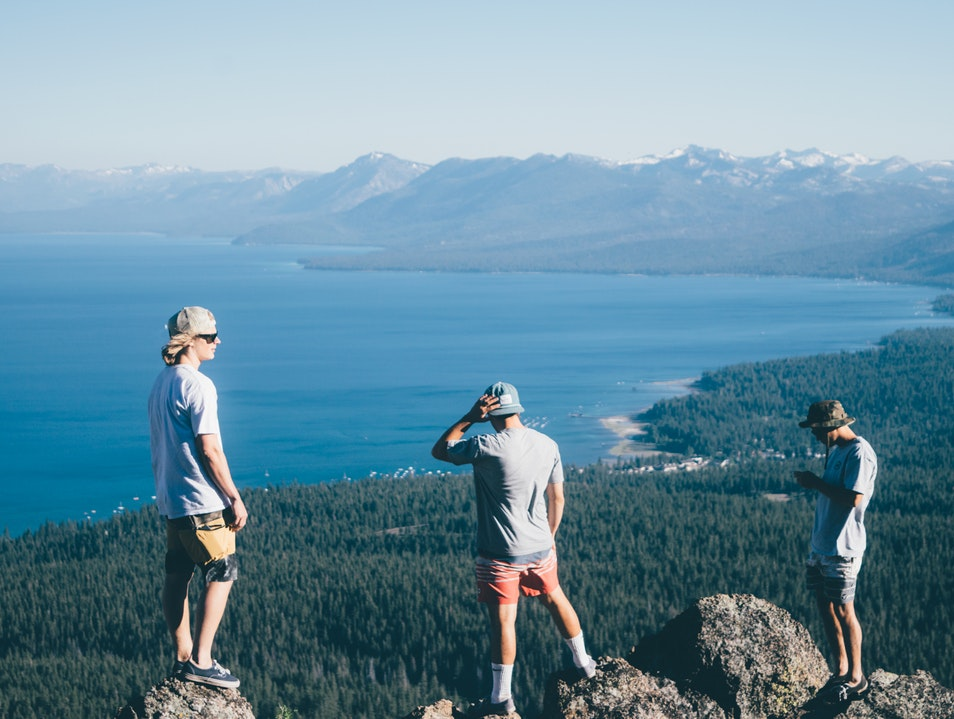 Off-road to this North Lake Tahoe view