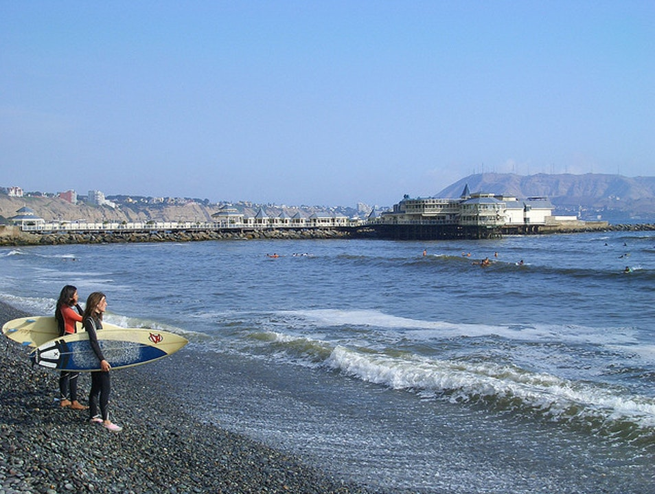 Beaches in Miraflores