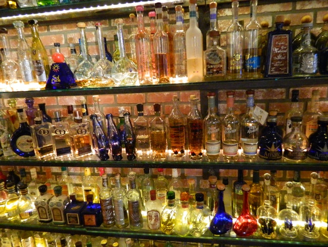 Two Thousand tequilas in Old Town, San Diego