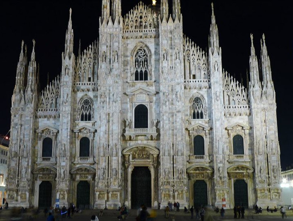 Must see- make sure to climb to the top Milan  Italy