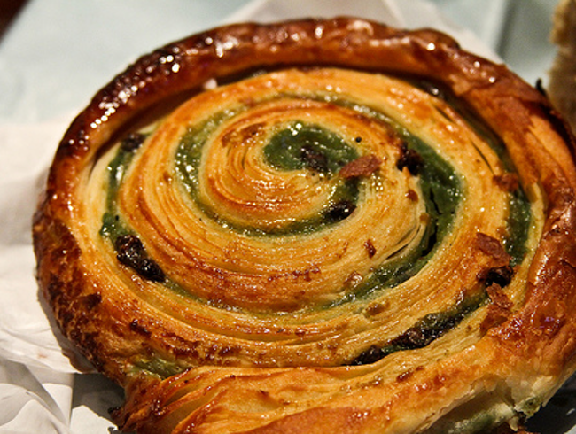 A Chocolate, Pistachio and Escargot Treat—Really!