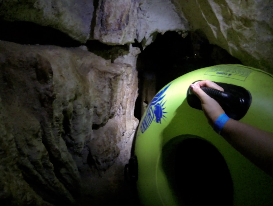 Cave Tubing Through 70 Million Year Old Caves in Belize Belize City  Belize