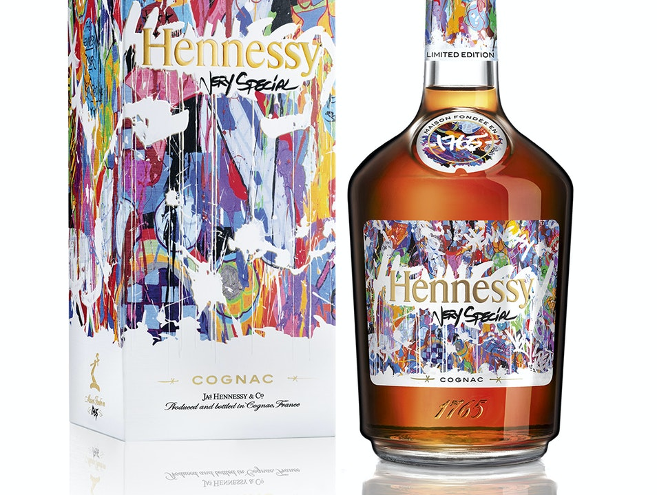 Hennessy Collaborates with Street Artist JonOne in New Limited Edition Label Cognac  France