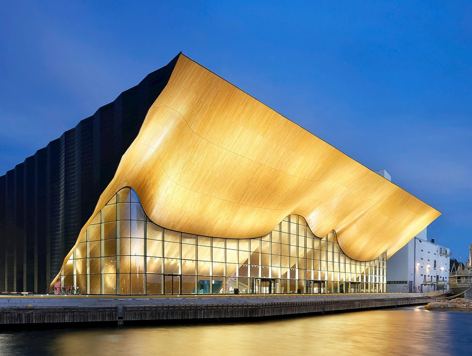 Kilden Performing Arts Centre Kristiansand  Norway