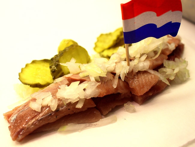 Going Dutch at Amsterdam's Herring Stands