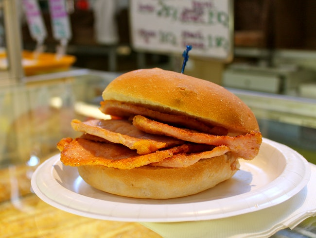The Original Peameal Bacon Sandwich