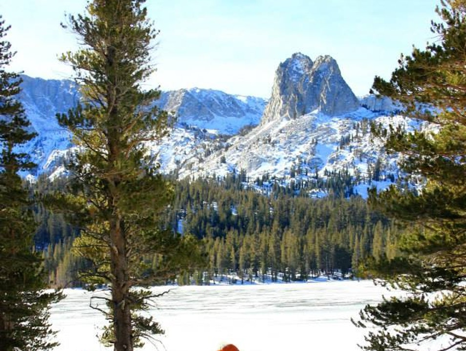 Cross Country Skiing at Tamarack Mammoth Lakes California United States