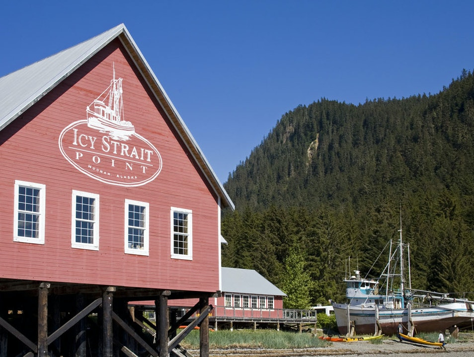 Icy Strait Point Company Store   Hoonah Alaska United States