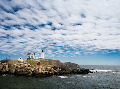 Cape Neddick Lighthouse  York Maine United States