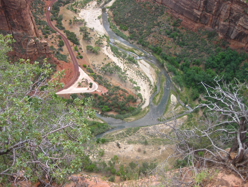 View from Heaven - Angel's Landing