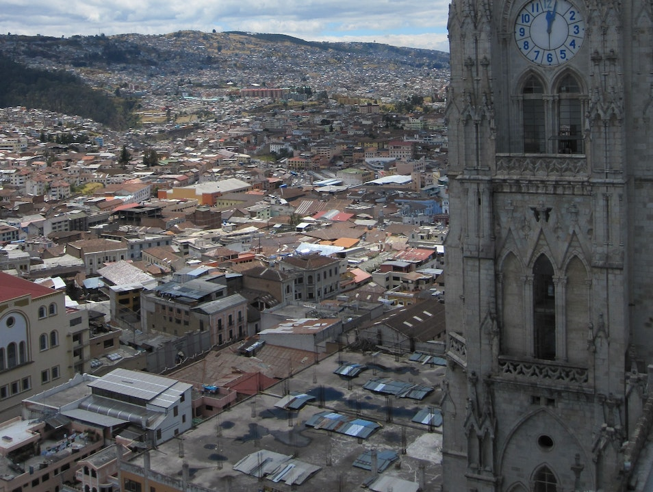 It's worth the climb! Quito  Ecuador