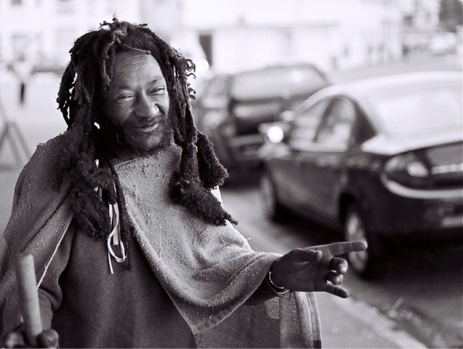 Rastaman Bernard Cape Town  South Africa