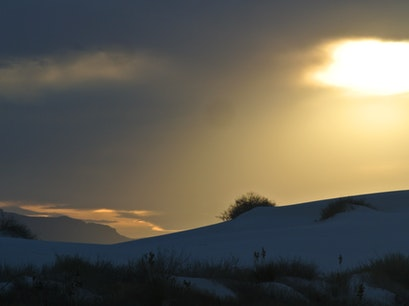 White Sands National Monument Historic District Tularosa New Mexico United States