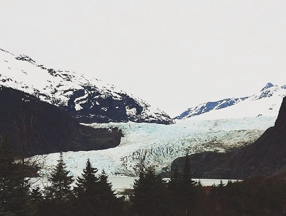 Hike to a Glacier in Juneau, Alaska Just Because You Can