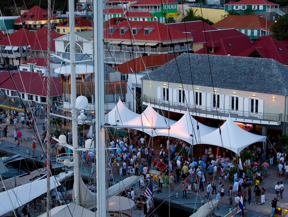 Celebrate Race Day  Gustavia  Saint Barthélemy